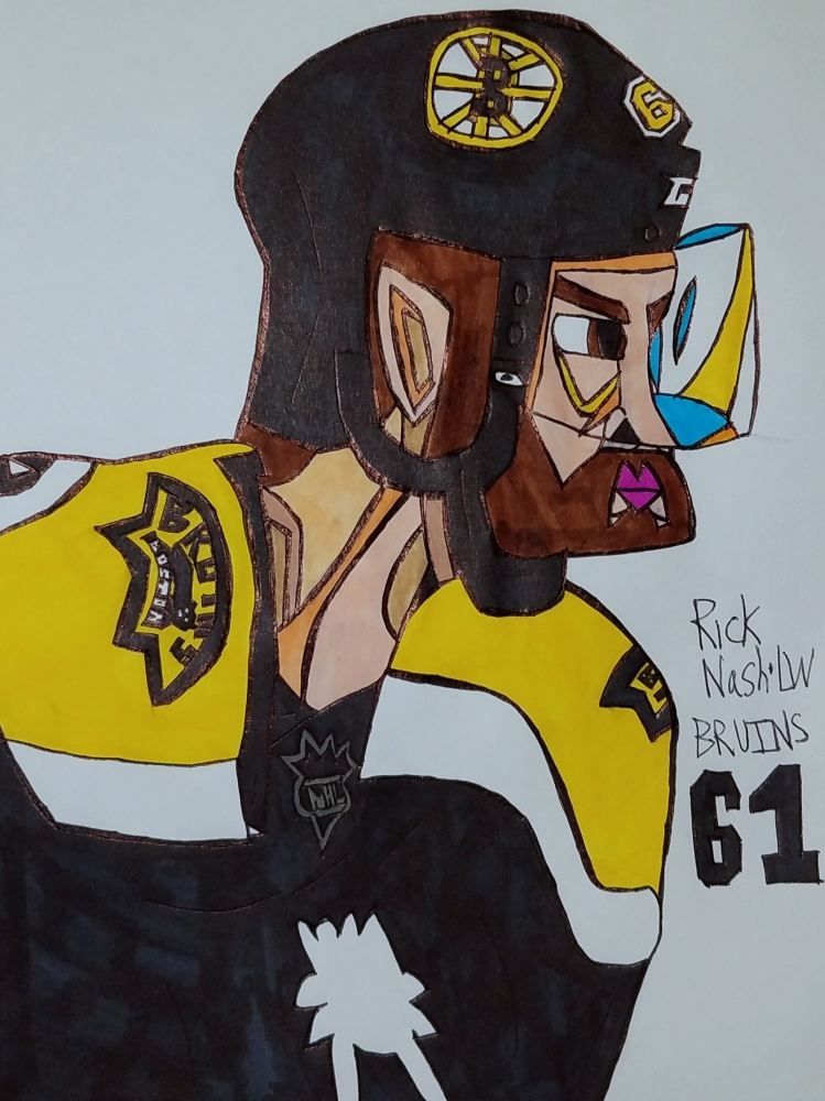 Rick Nash by armattock